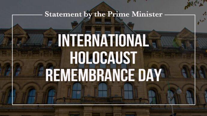 Канада отметила день памяти жертв Холокоста
