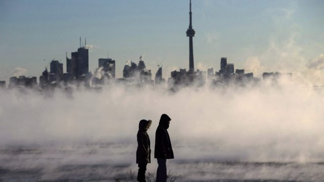 В Торонто с утра холодно