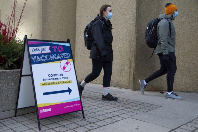 Планируется система массовой вакцинации для Онтарио