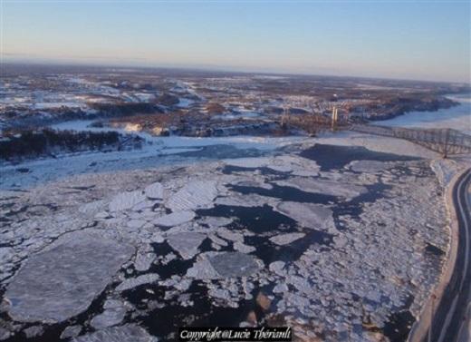 В заливе Святого Лаврентия крайне мало льда