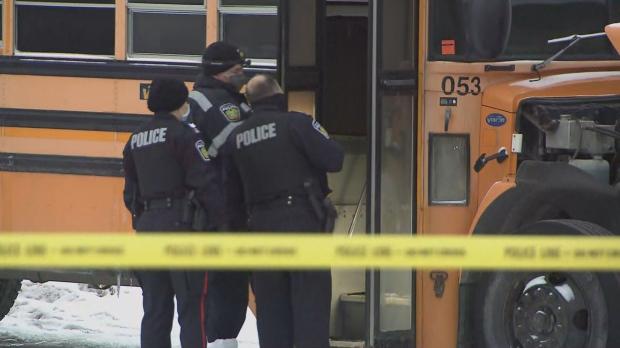 Покойник обнаружен в школьном автобусе
