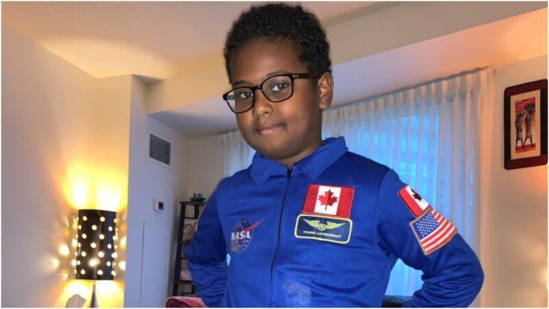 Третьеклассник мечтает стать первым афро-канадцем в космосе