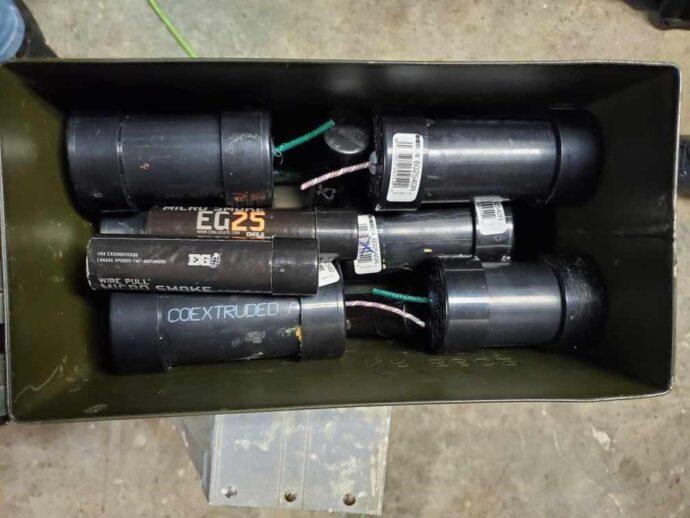 В частном доме канадца нашли оружие и взрывчатку