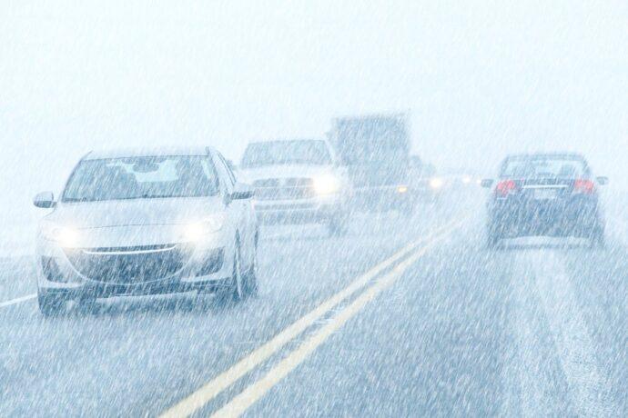 Порядка 40 автомобилей столкнулись на 40-м хайвее Квебека