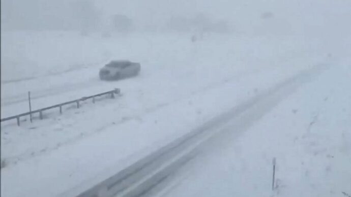 Синоптики ожидают «снежный шквал» к западу от Торонто
