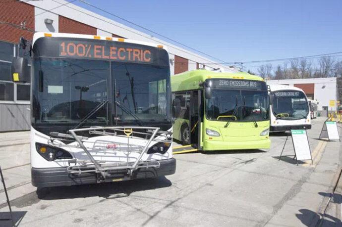 Электрификация пассажирского транспорта в Канаде