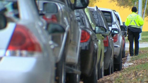 Курьеры страдают от парковочных правил