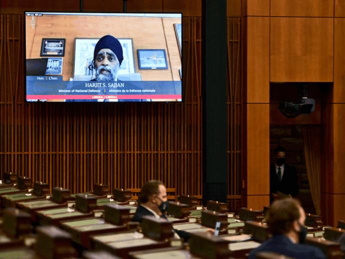 Канадский парламент голосует в Интернете