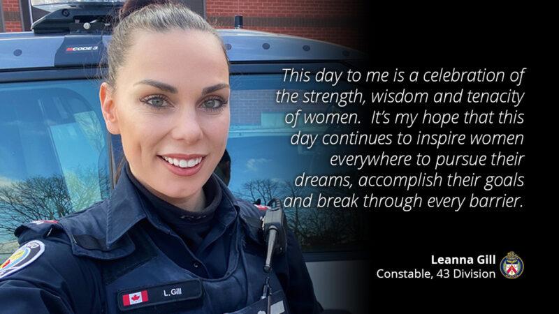 Международный Женский день отмечает и полиция