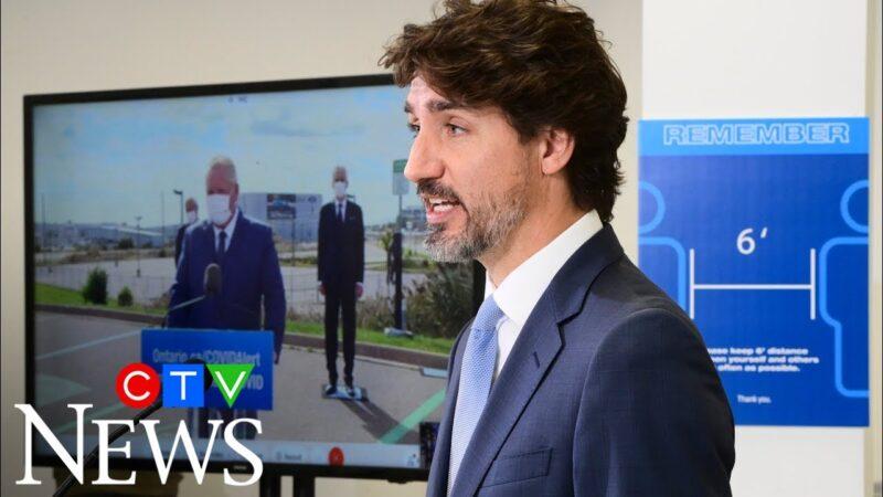 Премьер-министр Канады не собирается открывать границу с США